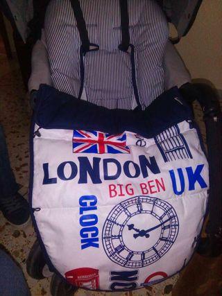 saco silla de bebe,capota,bolso Panera
