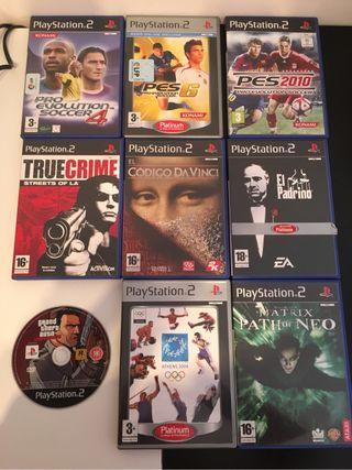 Videojuegos Variados Para PS2