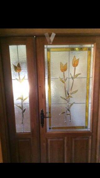 Cristales puertas de paso rusticos de segunda mano por 149 for Puertas de paso segunda mano