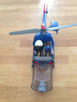 Playmobil helicoptero de segunda mano en wallapop for Playmobil segunda mano
