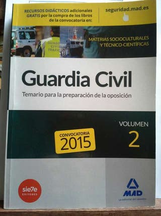 Temario vol.2 Guardia Civil