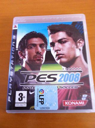 Juego PES 2008 PS3