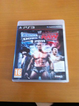 Juego PS3 Smack Down Vs Raw 2011