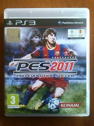 Play 3 PES 2011 Pro Evolution Soccer