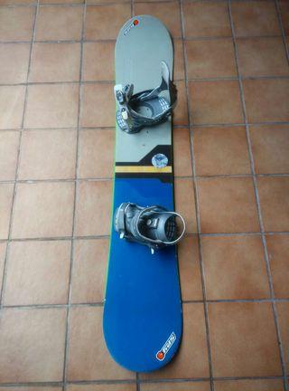 Tabla snow Scott 1.60cm + fijaciones f50 drake