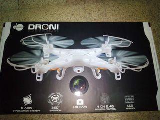 Dron DRONI con camara itsImagical (6 AXIS stabiliz