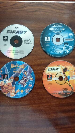 Juegos playstation one 20 lote