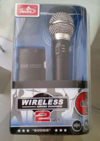 Micrófono wireless 2 in 1