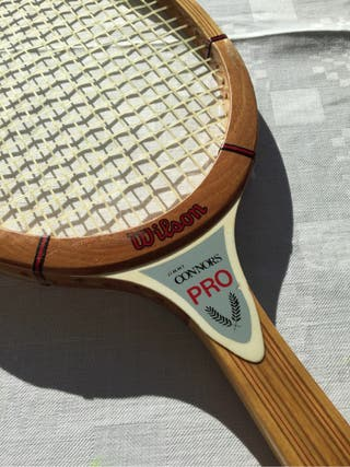 Raqueta de madera wilson Jimmy Connors Pro