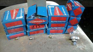 Bombillas para moto hay en rosca y normales a 5 la caja