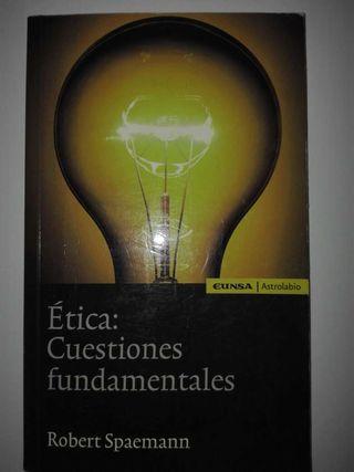 Etica cuestiones fundamentales