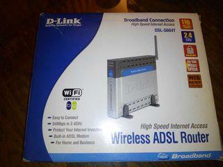 Router ADSL Inalámbrico DSL-G6047