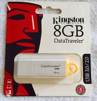 PENDRIVE KINGSTON 8GB/USB 3.0
