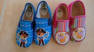 Zapatillas niño, sólo disponibles las de niño