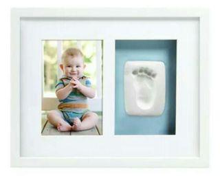 Marco fotos bebé con huella