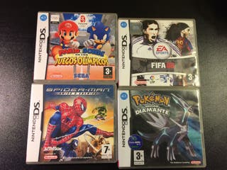 Pack Juegos NintendoDS