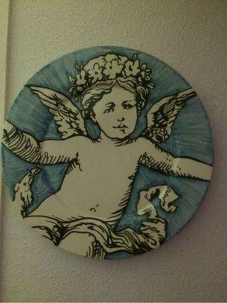 Plato Porcelana De Manolo Caceres y Miranda