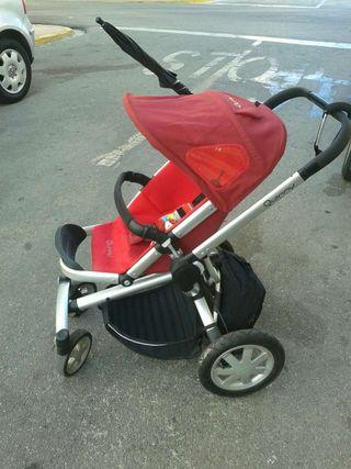 Carrito bebe quinny buzz rojo