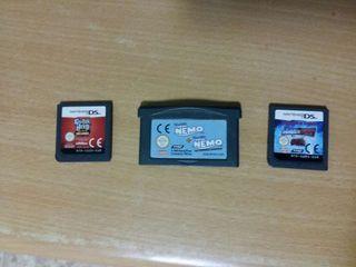 Nintendo DS. 3 Juegos..