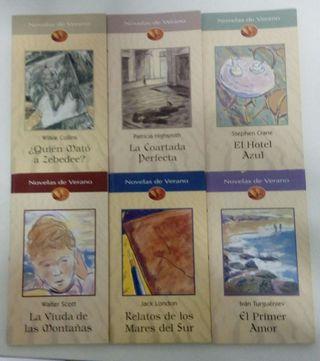 Lote 6 libros novelas de verano