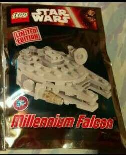 LEGO STAR WARS límited edición Halcón milenario