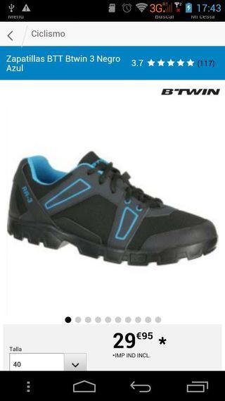 Zapatos ciclistas