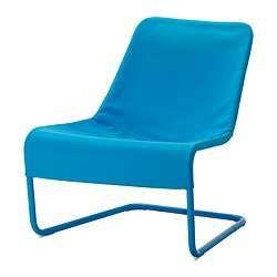 Sillon LOCKSTA ikea color azul