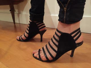 Leather Sandals Size 7