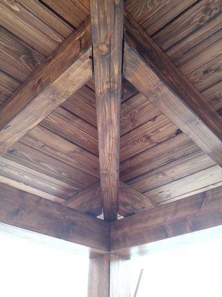 Pérgola de madera Sevilla
