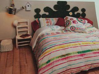 Funda nórdica Reversible y Almohada DESIGUAL NUEVA A ESTRENAR (cama Individual)