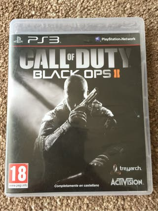 Call Os Duty: Blacks Ops II - PS3