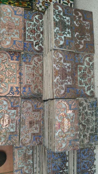 Azulejos antiguos de triana de segunda mano en san juan de for Azulejos clasicos
