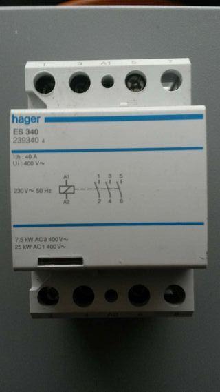 Contactor HAGER ES340 4x40A