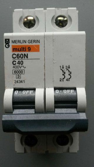 Magnetotermico MERLIN GERIN C60N 2x40A