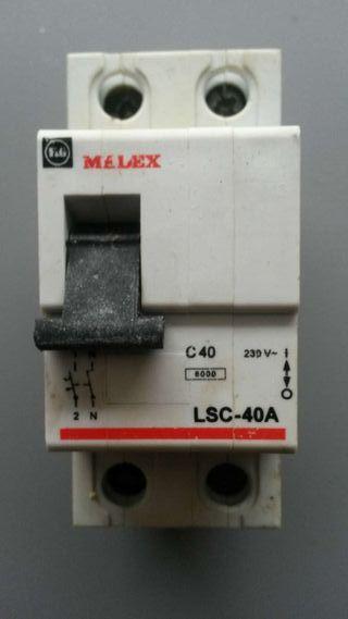 Magnetotermico MELEX LSC-40A