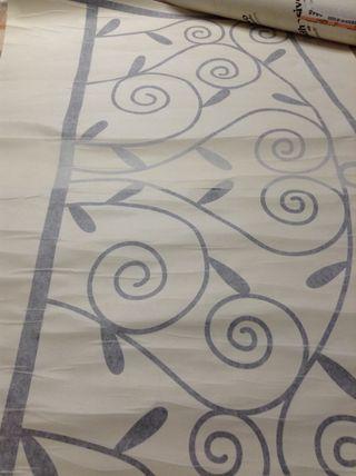 Vinilo decorativo cabezal de cama (90x62 cm)