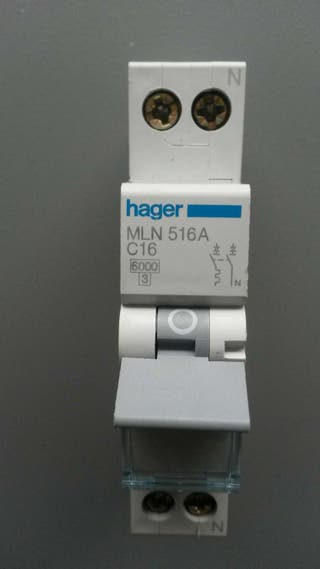 Magnetotermico HAGER MLN 516A