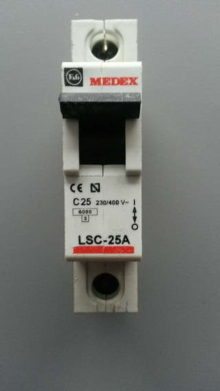 Interruptor magnetotérmico MEDEX