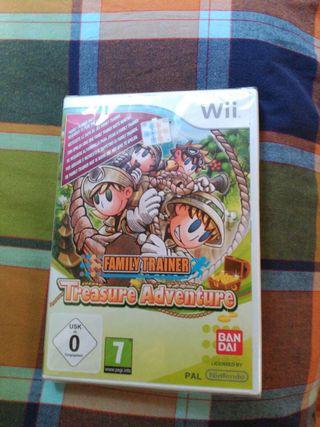 Family trainer - Treasure Adventure Wii