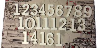 Números para decoración