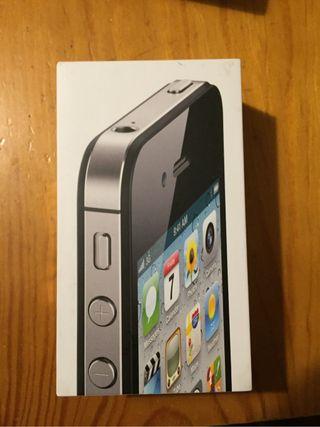Caja De Iphone 4S 16GB Negro
