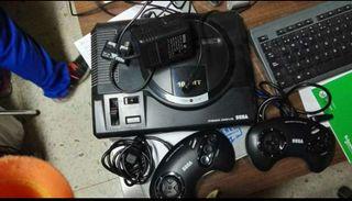 Sega mega drive con juegos