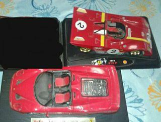 Coches Ferrari escala 1:18