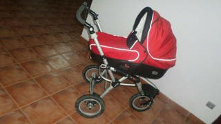 Jane Powertrack rojo completo