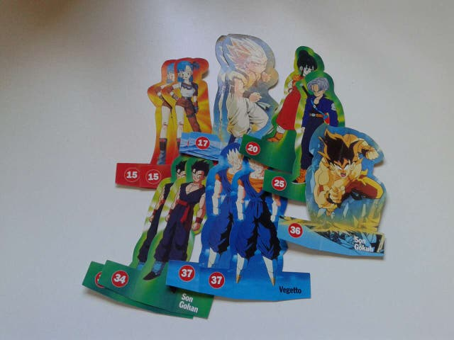 Cromos Dragon Ball Z