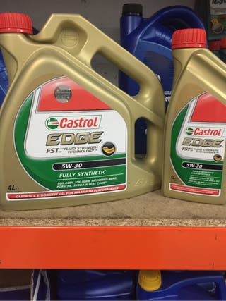 Aceite Castrol 5/30 Edge 5 Litros