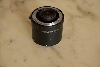 Objetivo Convertidor 2x Nikon Af-s. TC 20 E II 2x