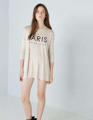 Camiseta larga manga 3/4 Paris
