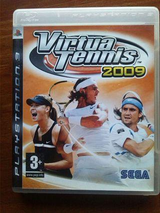 Play 3 Virtua Tennis 2009