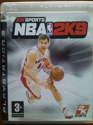 Play 3 NBA 2 K9